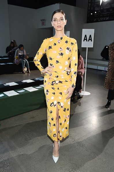 L'actrice Angela Sarafyan assiste à New York.|Photo : Getty Images