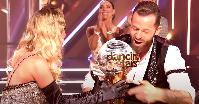 ET Online: Kaitlyn Bristowe & Artem Chigvintsev Open up about Their Emotions after DWTS Win