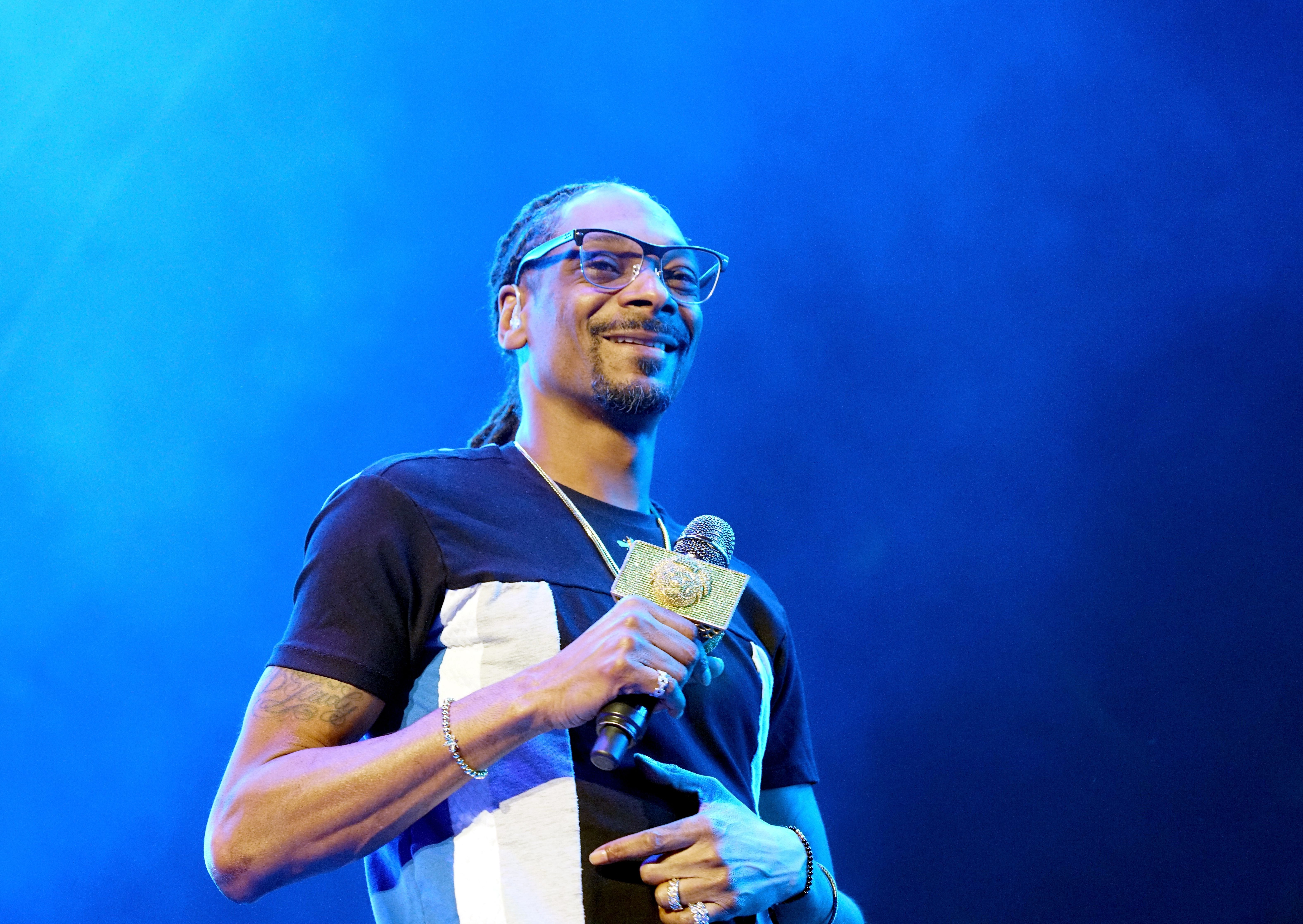 Snoop Dogg during the 2017 BET Experience Staples Center Concert, sponsored by Hulu, at Staples Center on June 22, 2017 in Los Angeles, California.   Source: Getty Images