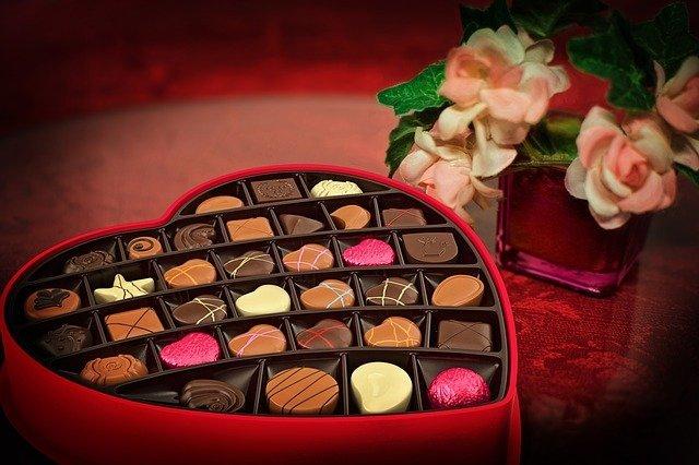 Bombones de chocolate. |Imagen:  Pixabay
