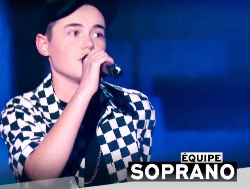 Lilou qui a rejoint l'équipe de Soprano. l Source : TF1 Replay