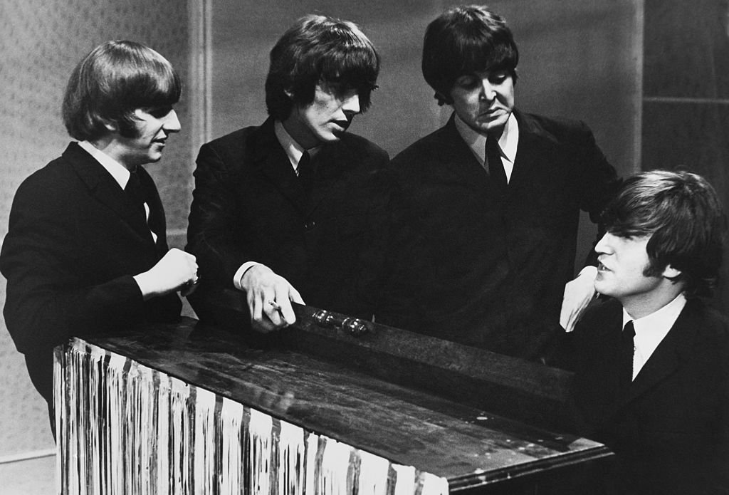 The Beatles In Tv Studios At Manchester In England During Sixties   Photo: Getty Images