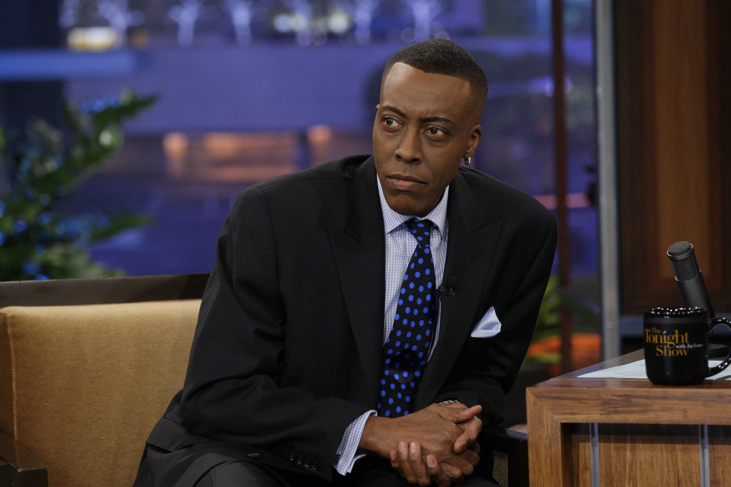 "Arsenio Hall during an interview on ""The Tonight Show with Jay Leno,"" March 22, 2012 