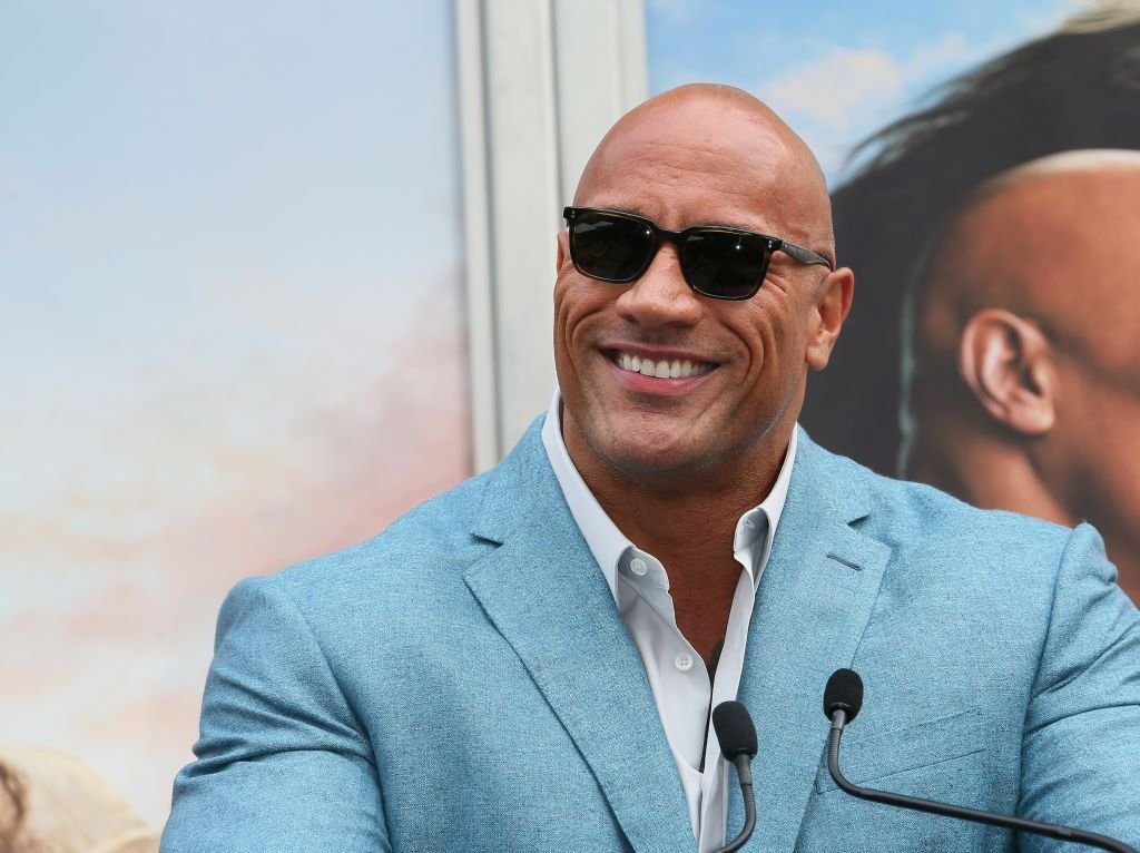 Dwayne Johnson attends a Hand and Footprint ceremony honoring Kevin Hart at the TCL Chinese Theatre IMAX | Photo: Getty Images