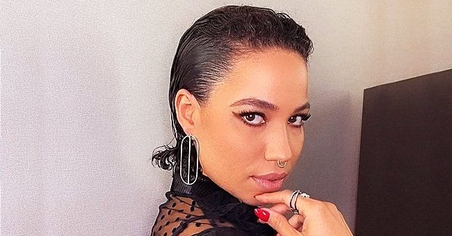 Jurnee Smollett-Bell from 'Underground' Is Looking Fierce with Her Messy Bob & Red Lipstick in a Recent Photo