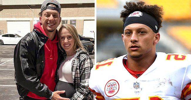 NFL Star Patrick Mahomes & His Fiancée Brittany Matthews Welcome Their 1st Child