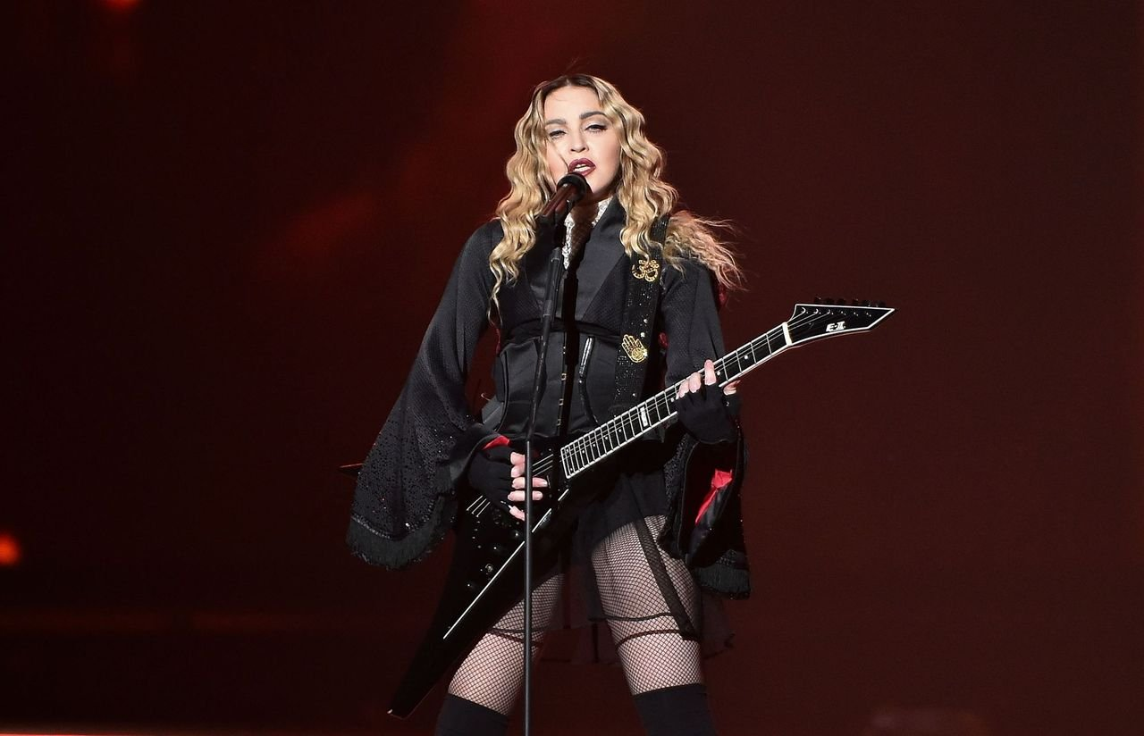 Madonna performed in a concert during her Rebel Heart Tour at Philips Arena on January 20, 2016 in Atlanta, Georgia   Photo: Getty Images