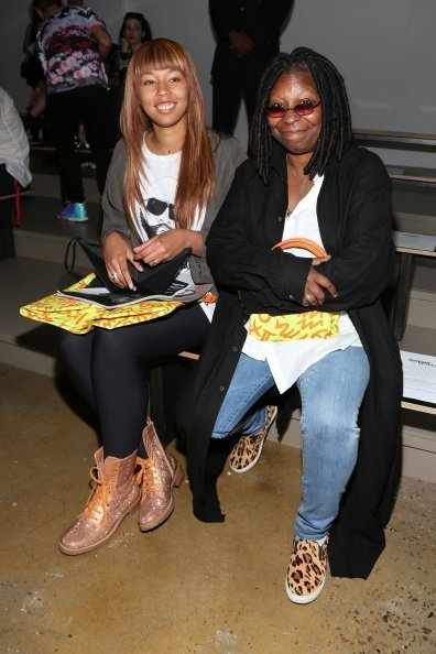 Whoopi Goldberg and her grand daughter at MADE fashion Week Spring 2015 at milk studio on September 10, 2014 in New York City | Photo: Getty Images