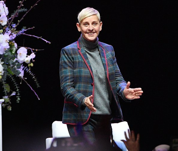 Ellen DeGeneres at at Scotiabank Arena in Toronto, Canada | Photo: Getty Images