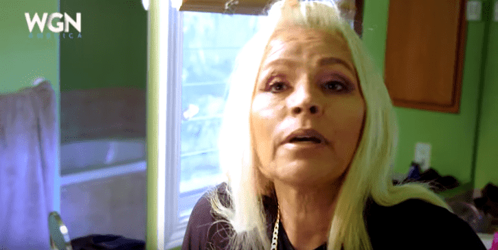 Beth Chapman speaking candidly about the possibility of dying from cancer on the promo trailer of Dog's Most Wanted | Photo: YouTube/WGN America