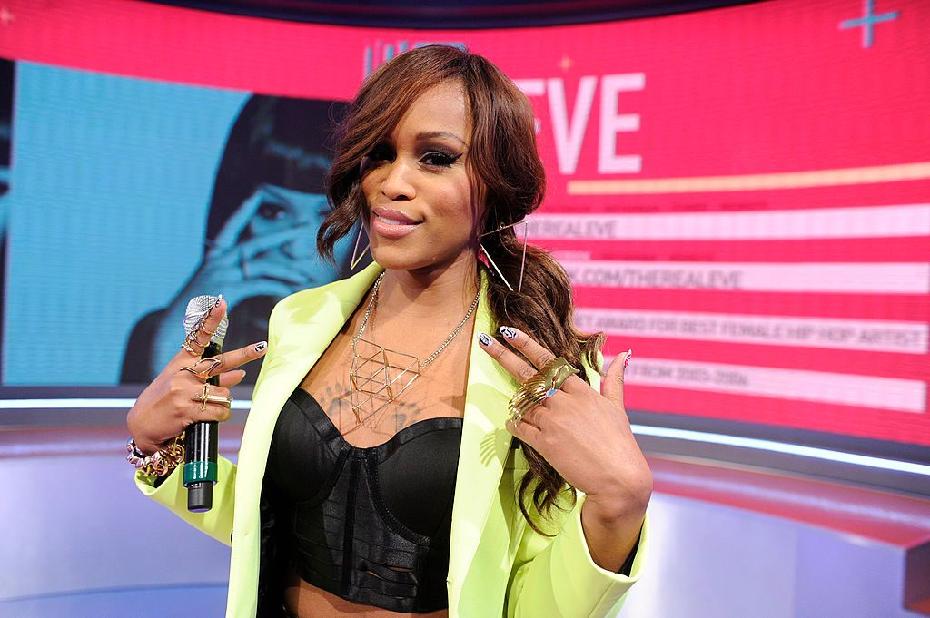 Eve at BET Studios on May 15, 2013 in New York.  | Photo: Getty Images