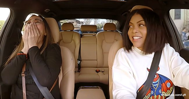 Taraji P. Henson goes undercover as a Lyft driver in baseball hat & dark shades in hilarious video