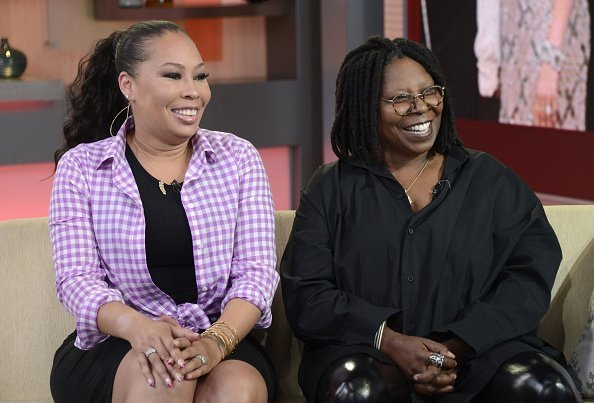 Whoopi Goldberg, joined by her daughter Alex Martin on GOOD MORNING AMERICA | Photo: Getty Images