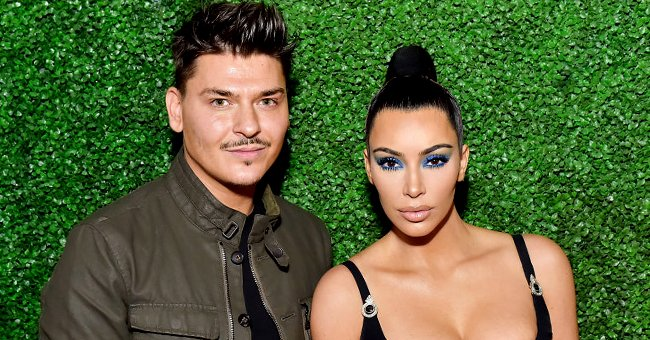 Mario Dedivanovic and Kim Kardashian West at the KKWxMario Dinner in March 2018 | Source: Getty Images
