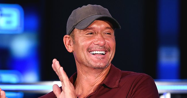 Tim McGraw Is a Proud Girl Dad Posting Cute Then and Now Photos of His Three Daughters with Faith Hill