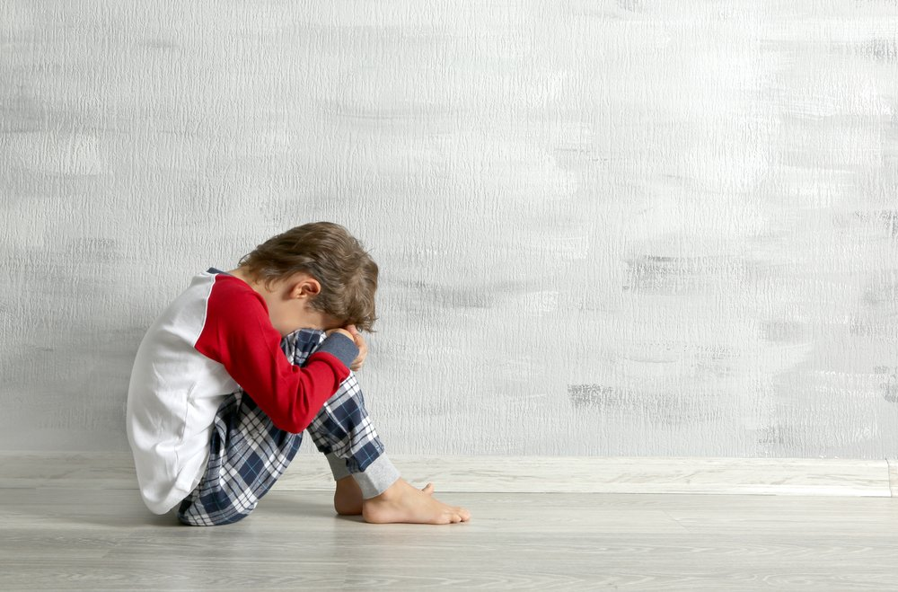 A photo of a little boy crying   Photo: Shutterstock