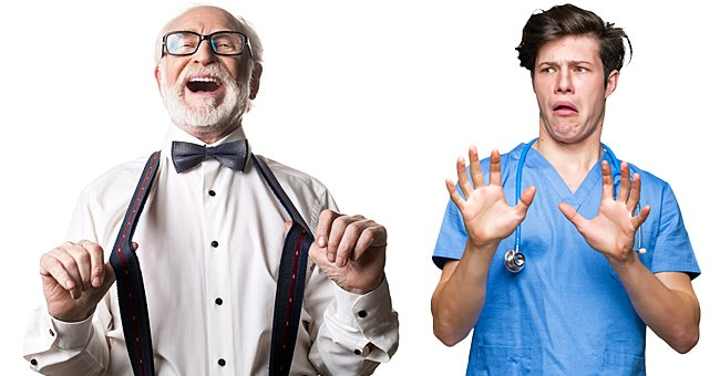 Daily Joke: Elderly Man Insists His Son-in-Law Should Operate on Him