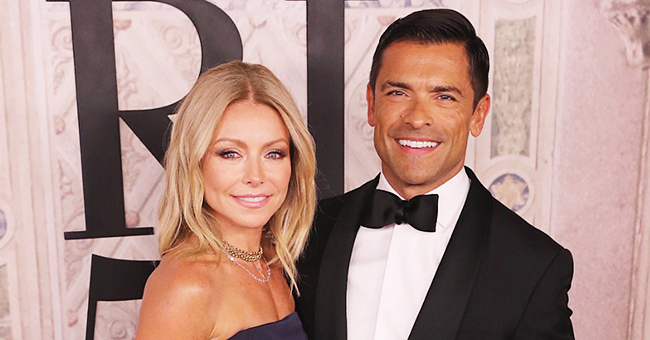 Kelly Ripa of 'Live with Kelly and Ryan' Posts Photo with Son Michael at Film School