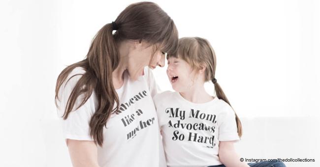 Así es cómo una mamá fuerte dijo a su hija que su papá la abandonó porque tenía síndrome de Down
