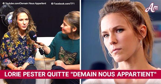 """""""Demain nous appartient"""" (TF1) : Lorie Pester quitte la série, la raison est dévoilée"""
