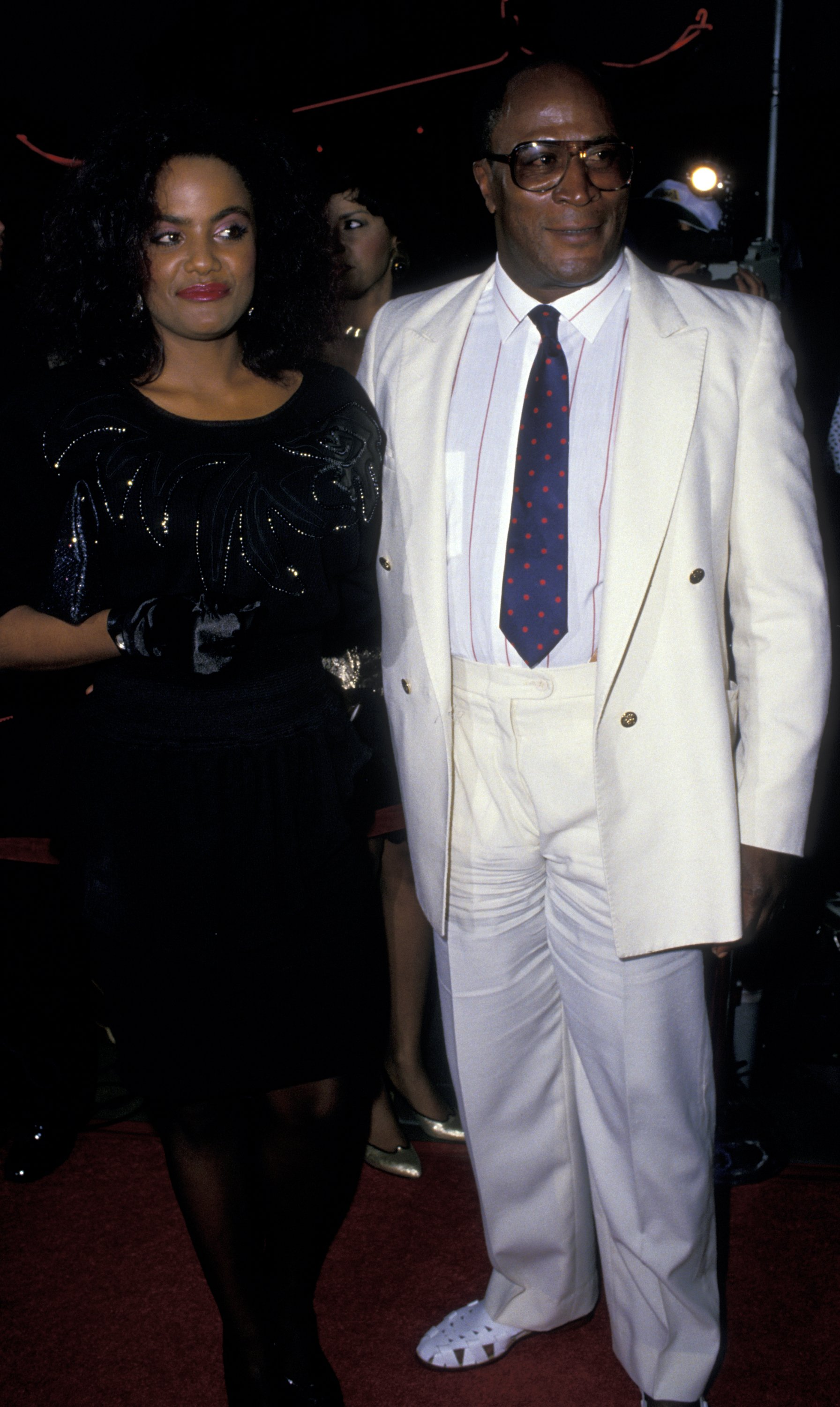 John Amos and daughter Shannon Amos on June 26, 1988 in Hollywood, California | Photo: Getty Images