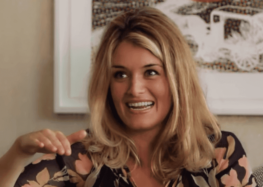 """Daphne Oz during an interview with Rachel Blumenthal for """"CricketsCircle."""" 