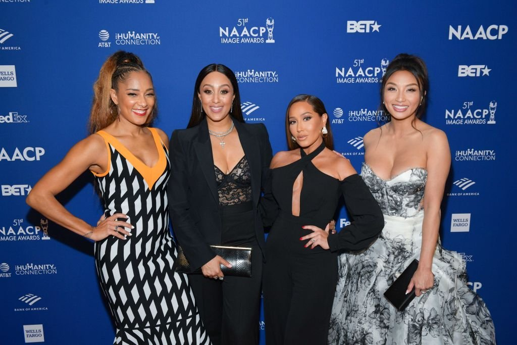 Amanda Seales, Tamera Mowry-Housley, Adrienne Houghton, and Jeannie Mai attends the 51st NAACP Image Awards non-televised Awards Dinner on February 21, 2020 in Hollywood, California | Photo: Getty Images