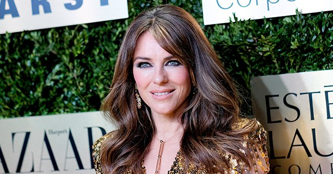Elizabeth Hurley Rocks a Leopard-Print Bikini on the 4th Day of Her Made-up Vacation
