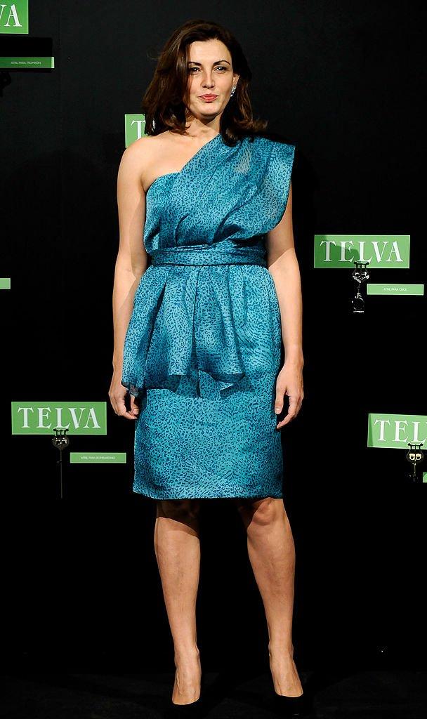 Mónica Molina en los Premios Fashion de la revista TELVA 2009, en el Teatro El Canal el 26 de octubre de 2009 en Madrid, España. | Imagen: Getty Images
