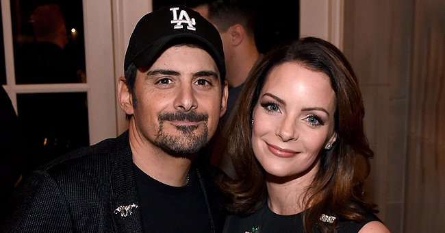 Brad Paisley Talks Hairstyling Skills after Dyeing Wife Kimberly's Hair Amid COVID-19 Lockdown