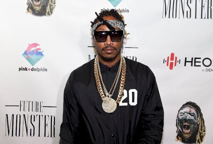 Rapper Future at Future Monster Halloween Costume Party on Oct. 28, 2014 in Norcross, Georgia. | Photo: Getty Images