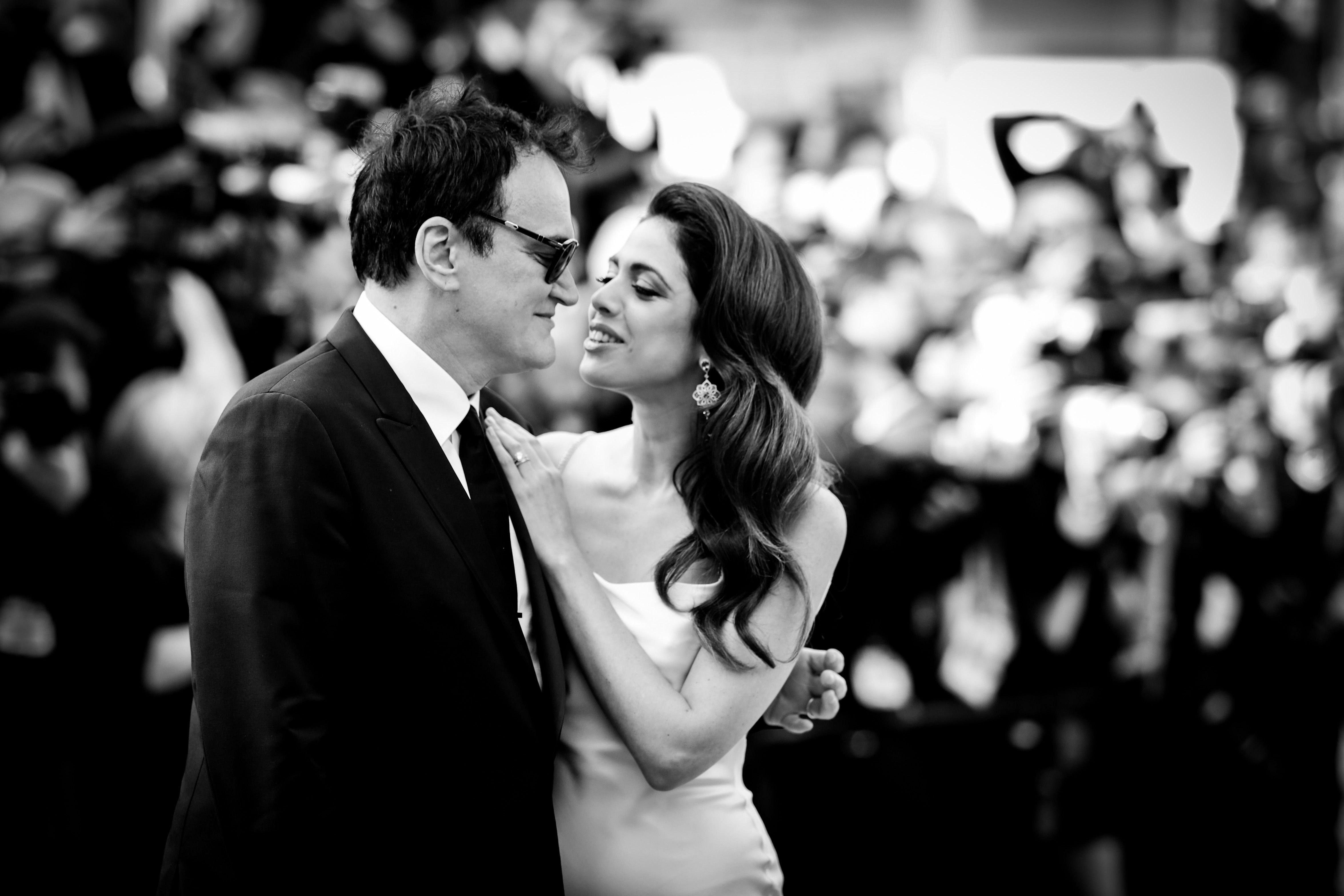 Quentin Tarantino and Daniella Tarantino at the 72nd annual Cannes Film Festival in 2019 in Cannes, France | Source: Getty Images
