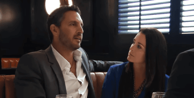 "Kyle Richards and her husband Mauricio Umansky on an episode of ""Real Housewives of Beverly Hills. 