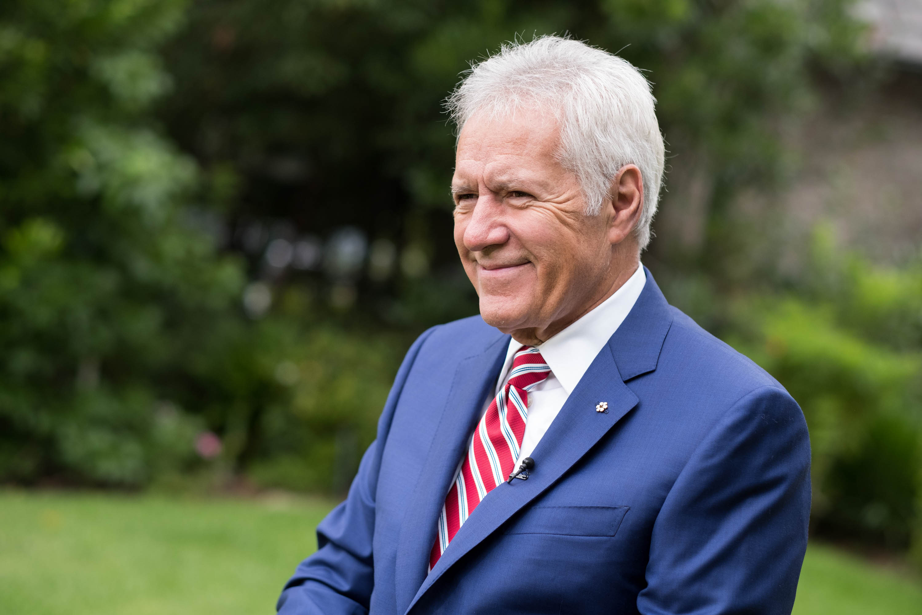 Alex Trebek attends the 150th anniversary of Canada's Confederation at the Official Residence of Canada. | Photo: GettyImages