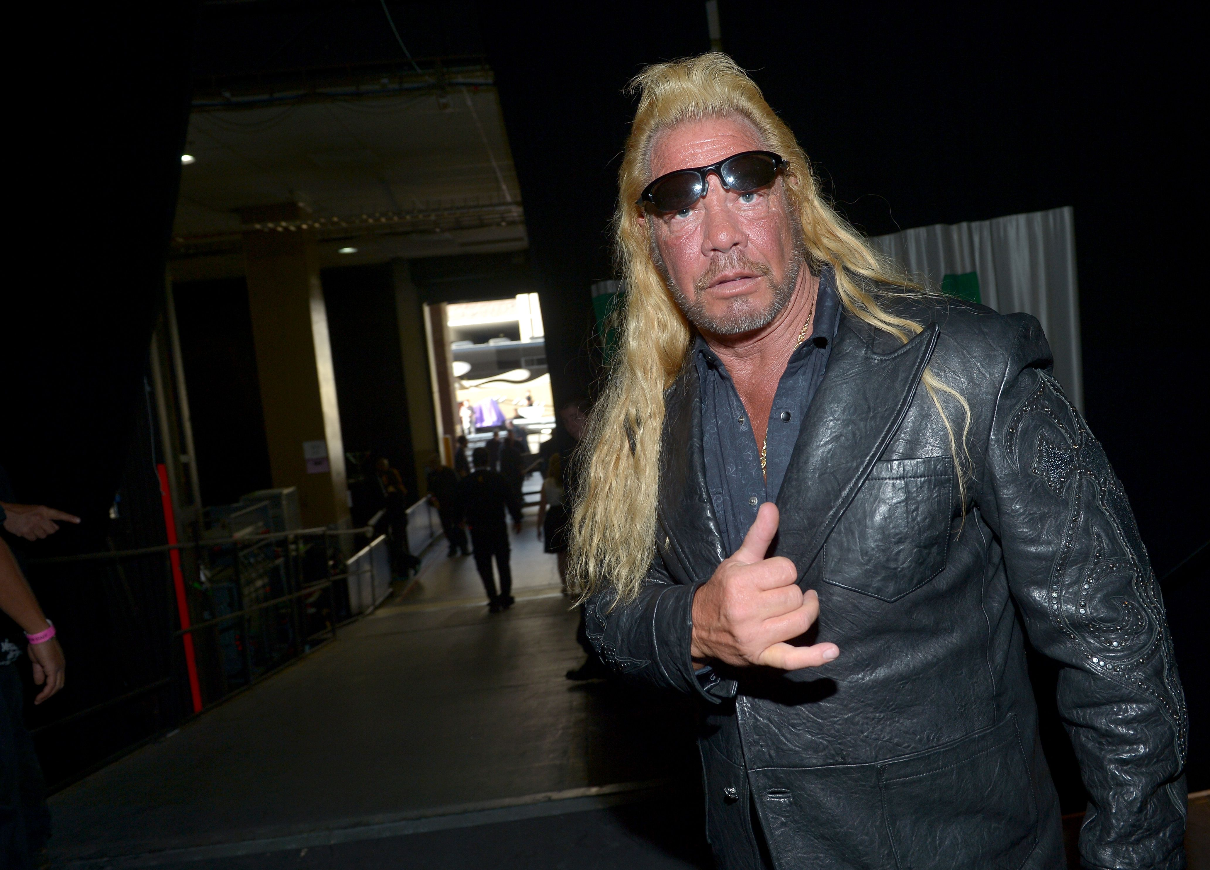 Dog the Bounty Hunter at the 48th Annual Academy of Country Music Awards at the MGM Grand Garden Arena on April 7, 2013   Photo: Getty Images