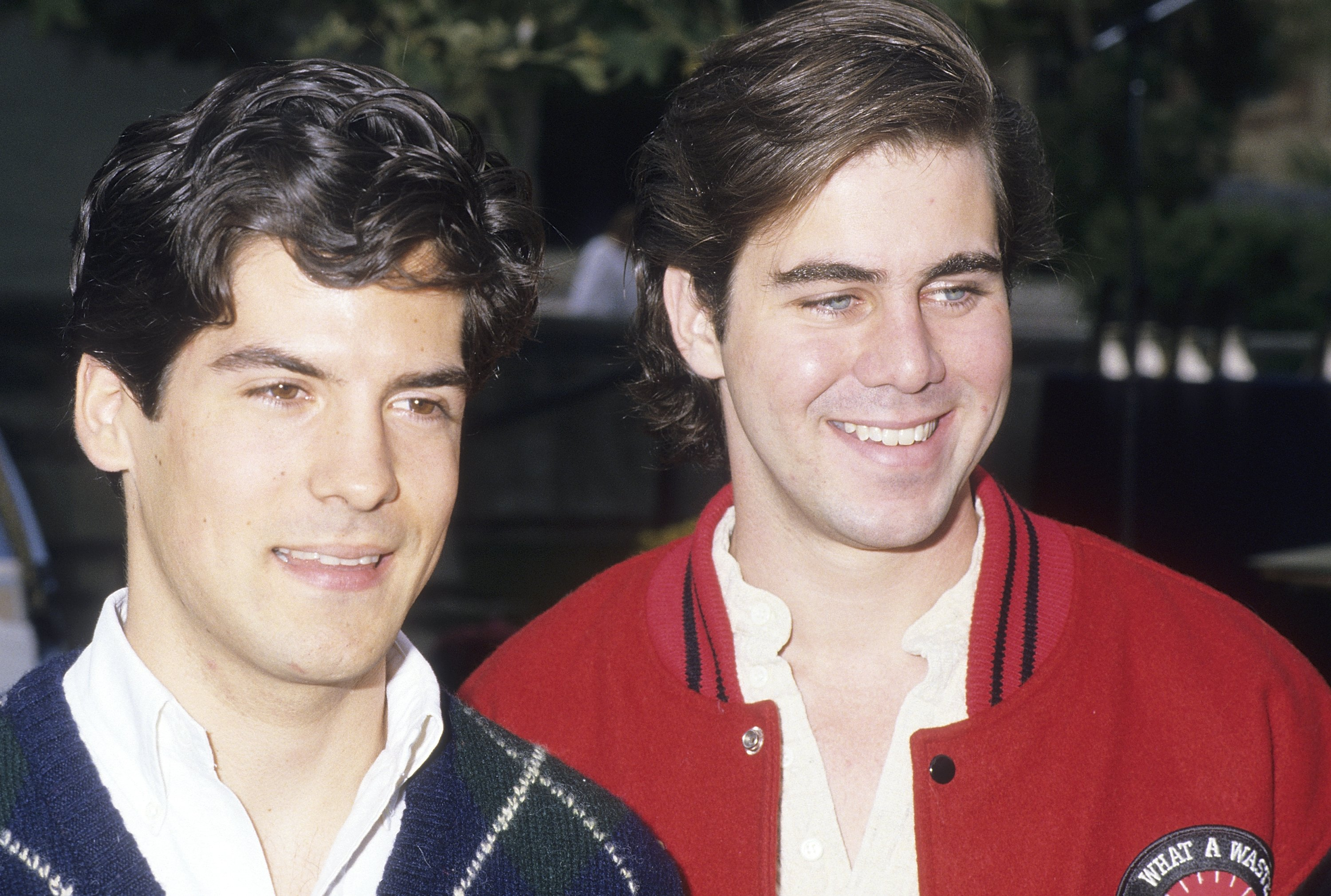 Actor Matthew Laborteaux and brother actor Patrick Labyorteaux attend the 19th Annual California Special Olympics Summer Games Opening Night Ceremonies on June 17, 1988 | Source: Getty Images
