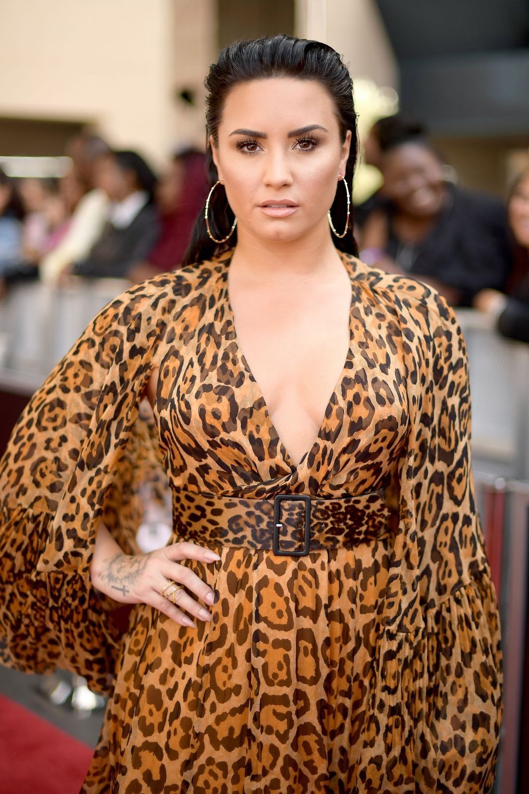 Demi Lovato at the Billboard Music Awards on May 20, 2018, in Las Vegas, Nevada | Photo: Matt Winkelmeyer/Getty Images