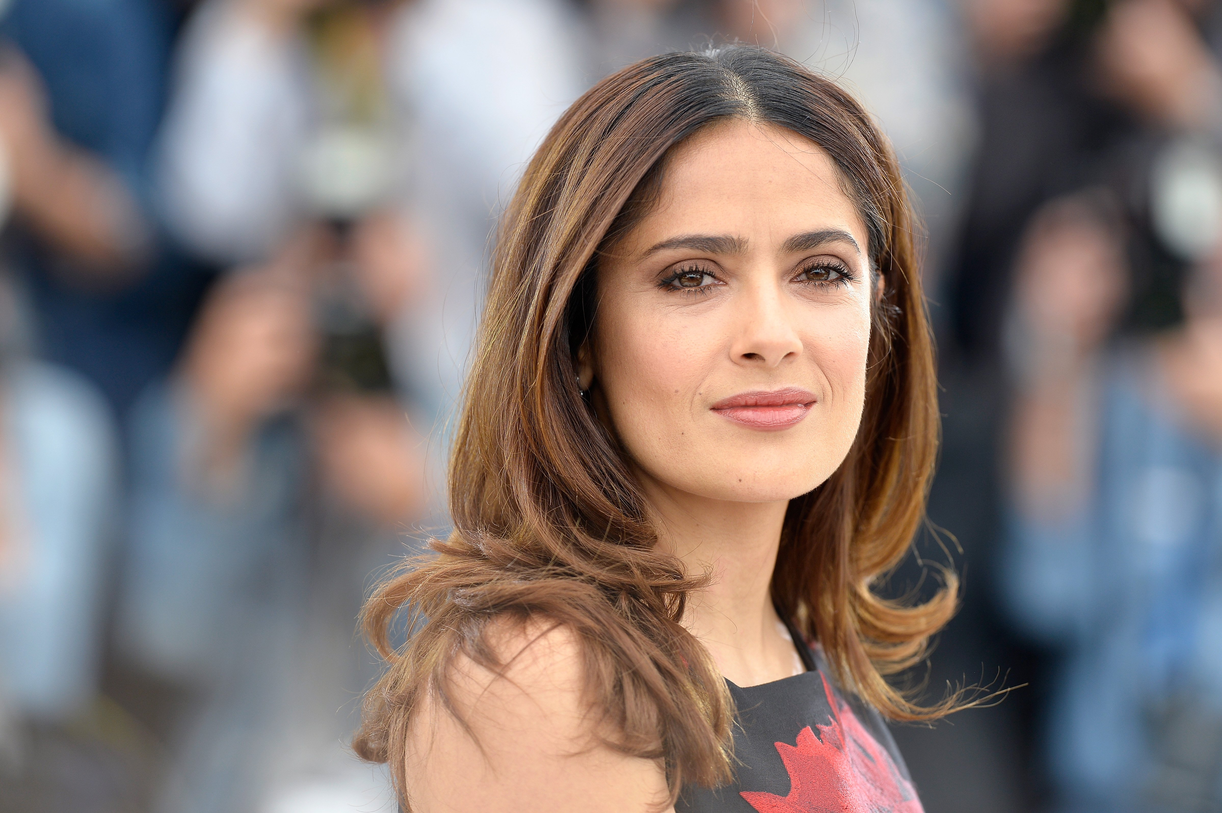 """Salma Hayek pictured at a photocall for """"Tale of Tales"""" during the 68th annual Cannes Film Festival, 2015, Cannes, France. 