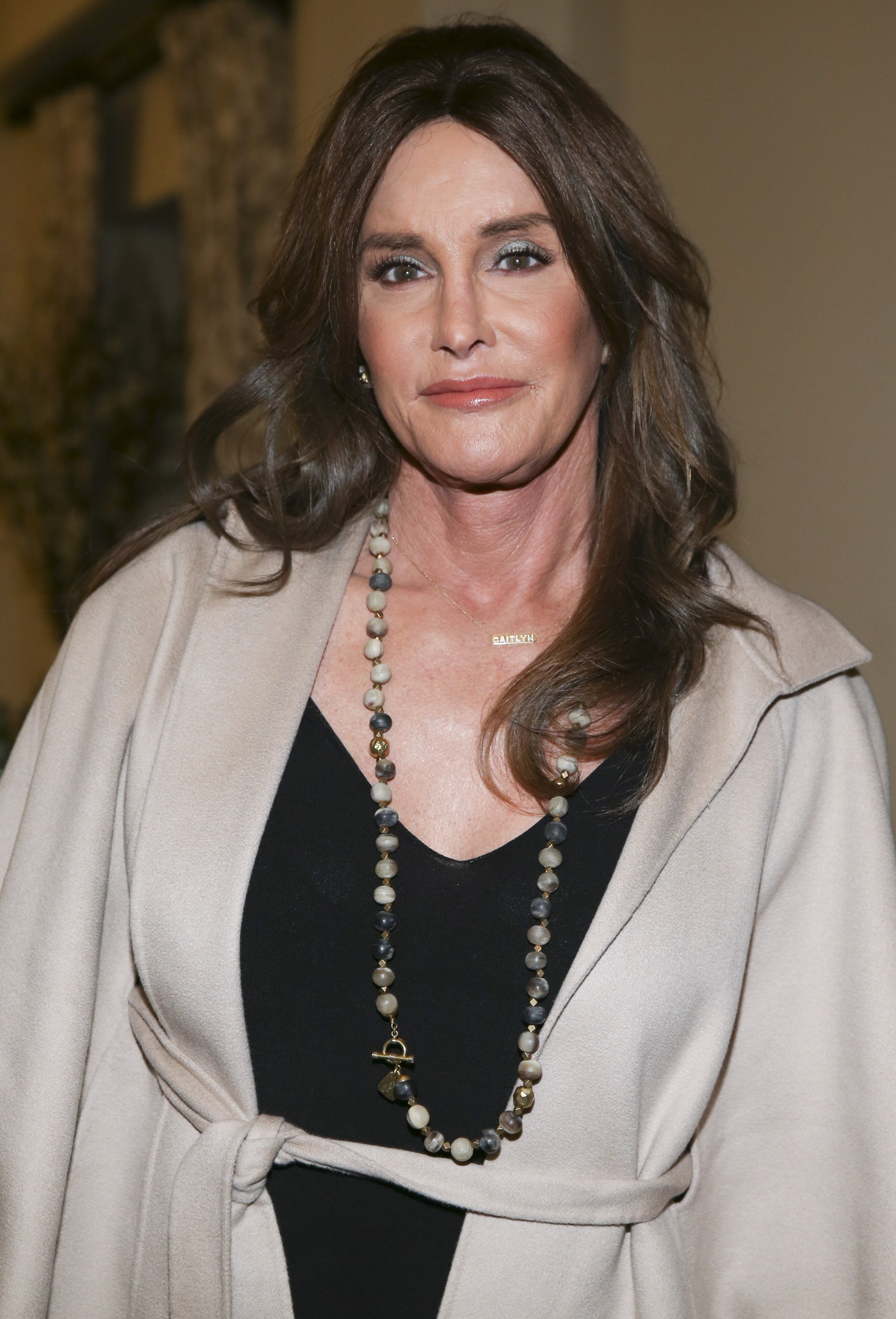 "Caitlyn Jenner attending the 2016 ""MAKERS Conference."" 