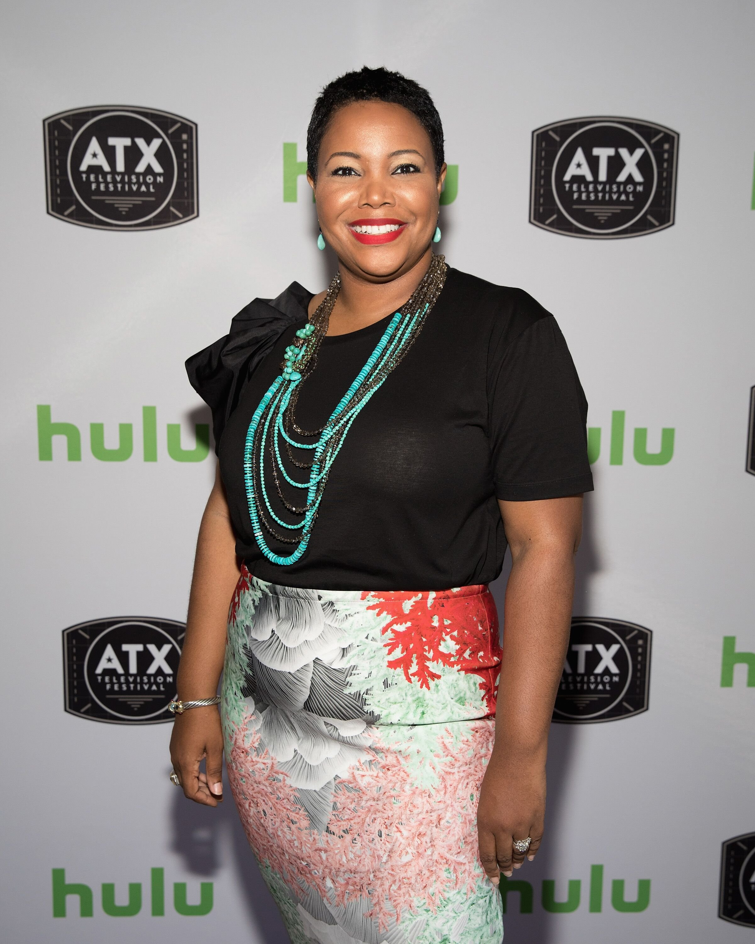 Kellie Shanygne Williams visits the Hulu Badgeholder Lounge during the ATX Television Festival  | Getty Images