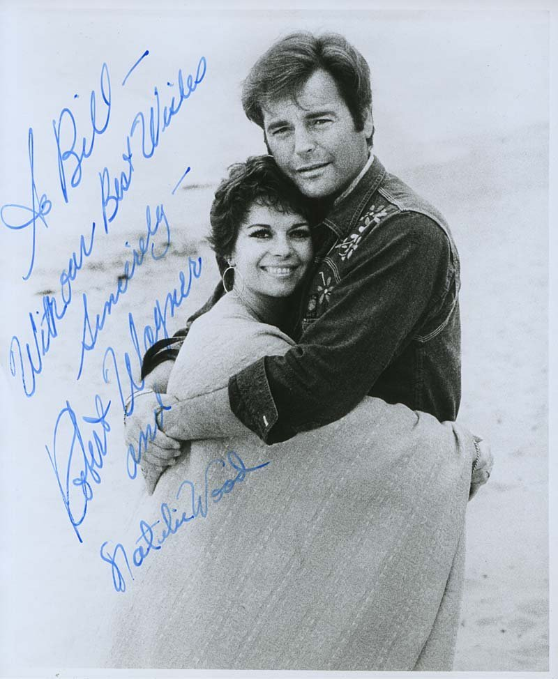 Natalie Wood and Robert Wagner. | Source: Wikimedia Commons