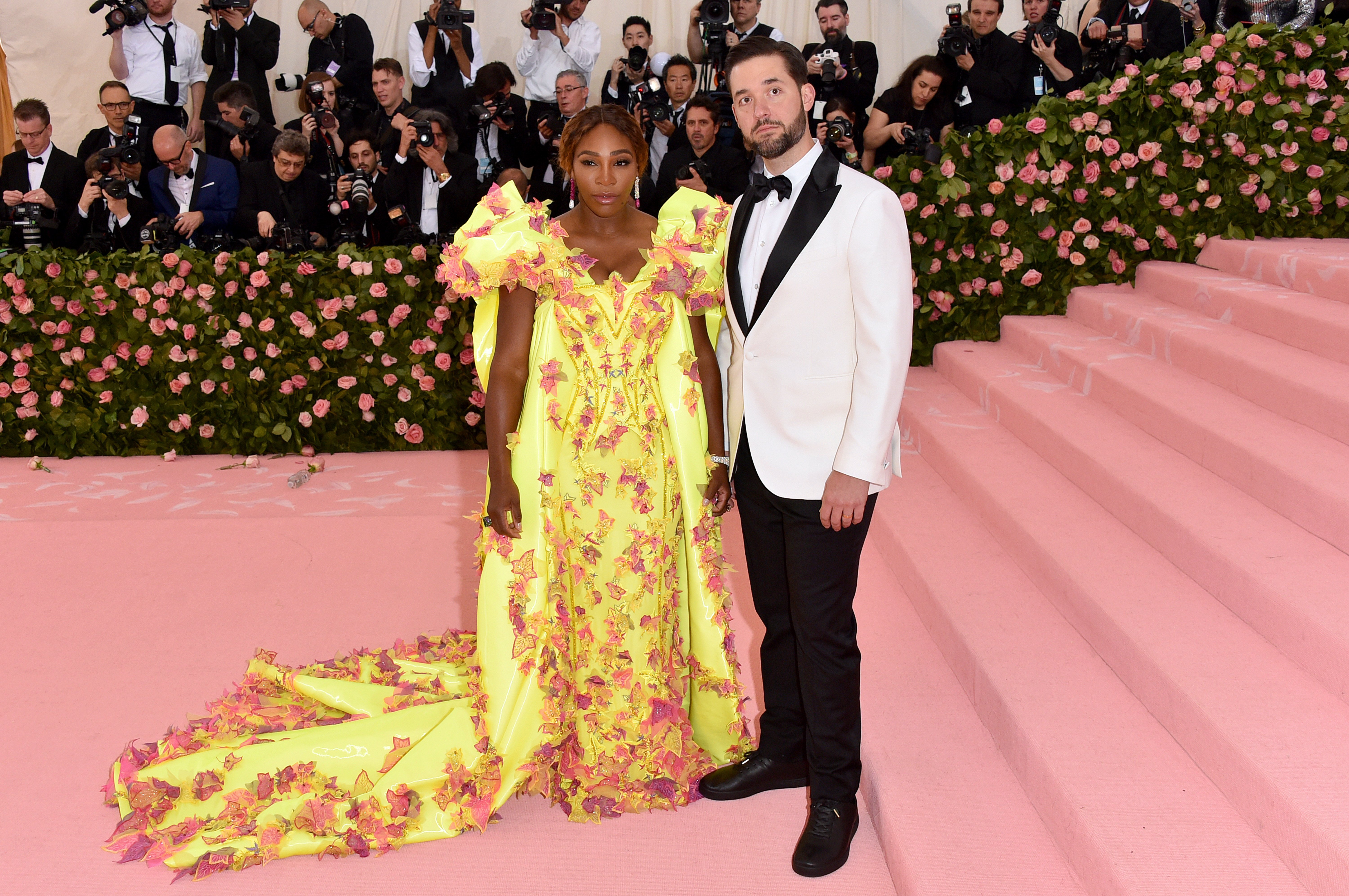 Serena Williams & Alexis Ohanian at The Met Gala in New York City on May 06, 2019 | Photo: Getty Images