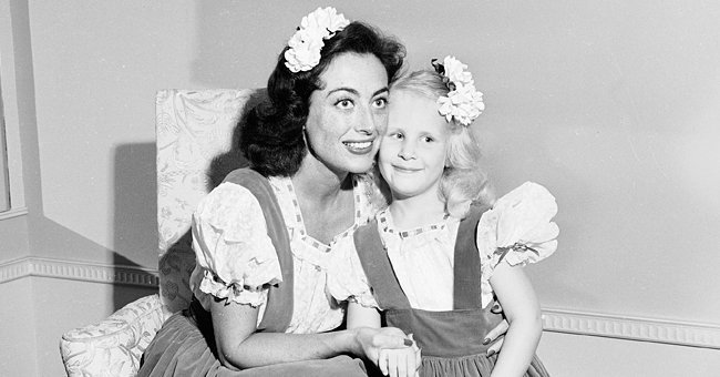 Photo of Joan Crawford and her daughter, Christina Crawford | Photo: Getty Images