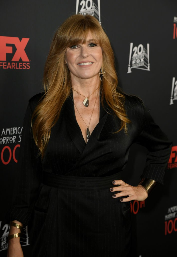 """Connie Britton attends FX's """"American Horror Story"""" 100th Episode Celebration at Hollywood Forever  