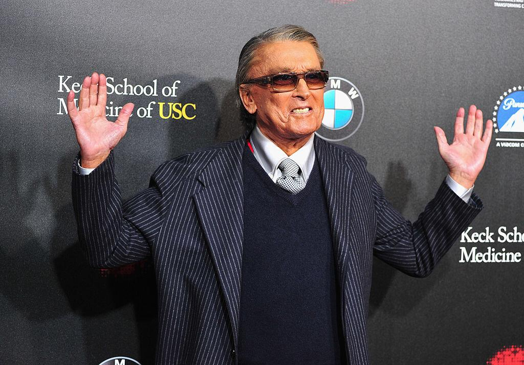 Producer Robert Evans arrives at the 2nd Annual Rebels With A Cause Gala at Paramount Studios on March 20, 2014   Photo: Getty Images