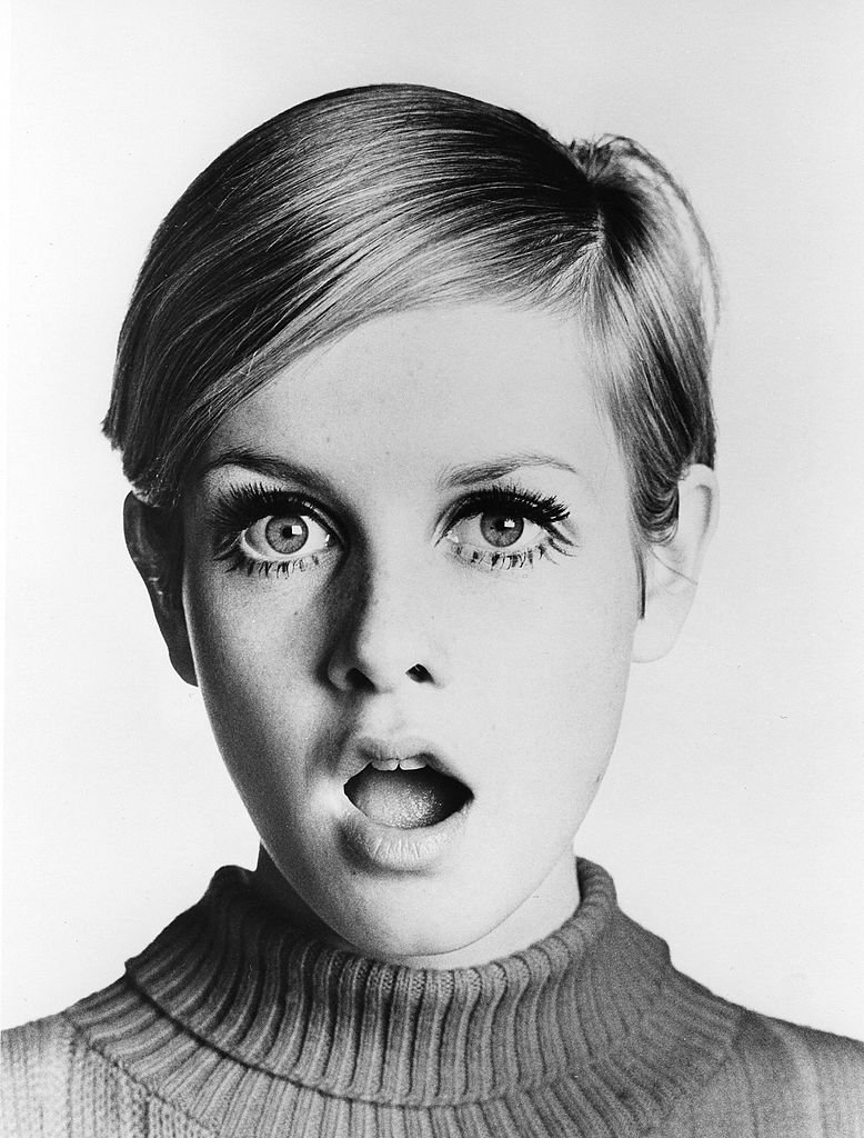"""Twiggy poses for a portrait during the filming of """"Twiggy in Hollywood"""" that aired in 1967 on ABC-TV, in Los Angeles, California.   Source: Getty Images"""