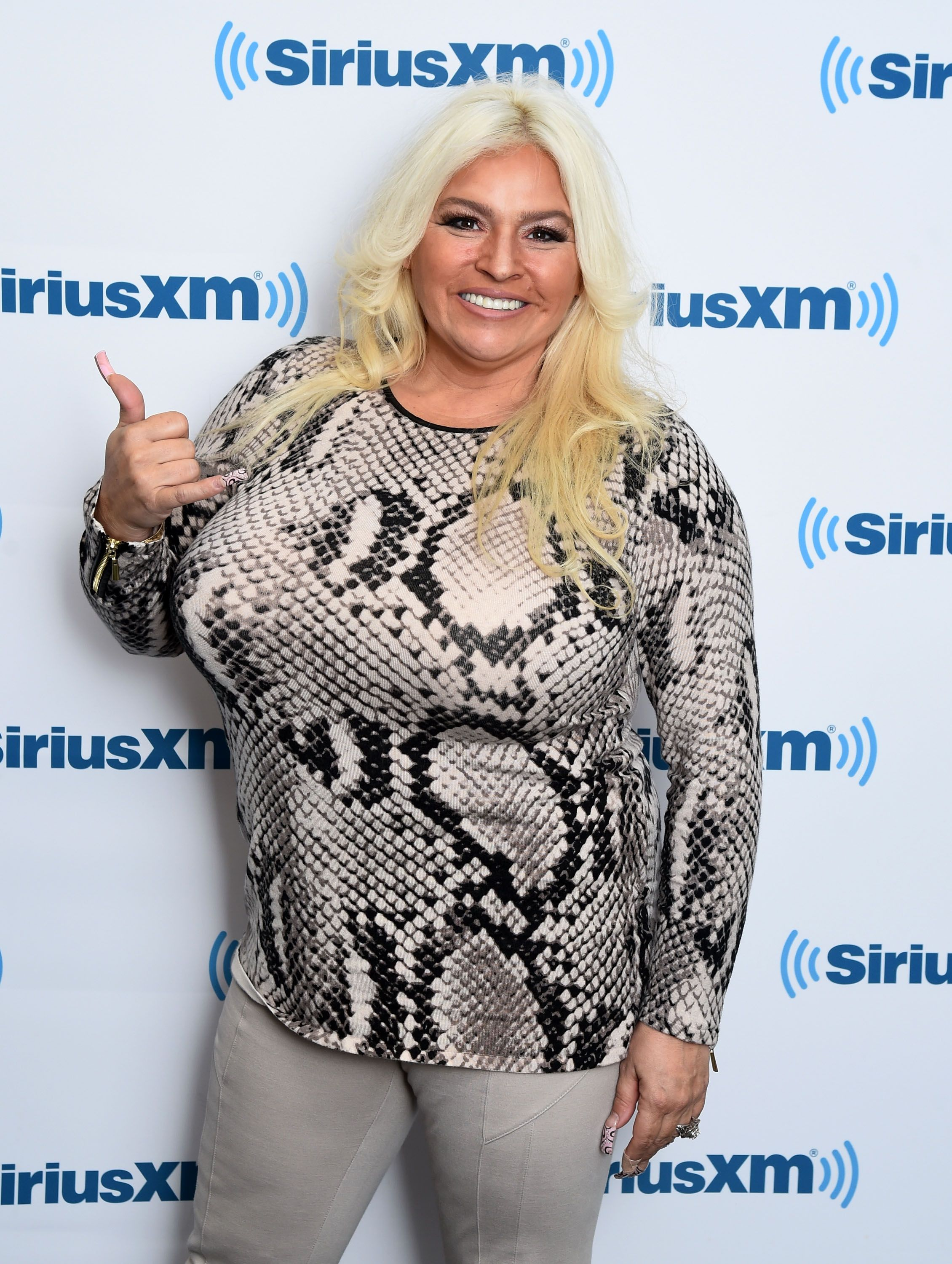 Late Beth Chapman at the SiriusXM Studios on April 24, 2015 | Photo: Getty Images