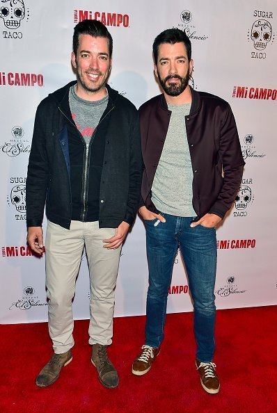 Drew and Jonathan Scott at Sugar Taco Vegan Mexican Restaurant Celebrity Launch Party on May 23, 2019 | Photo: Getty Images
