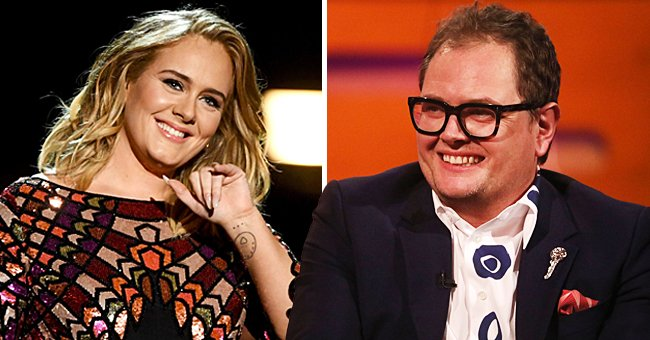 Check Out Adele's Friend, Alan Carr's Comments about the Singer's Weight Loss