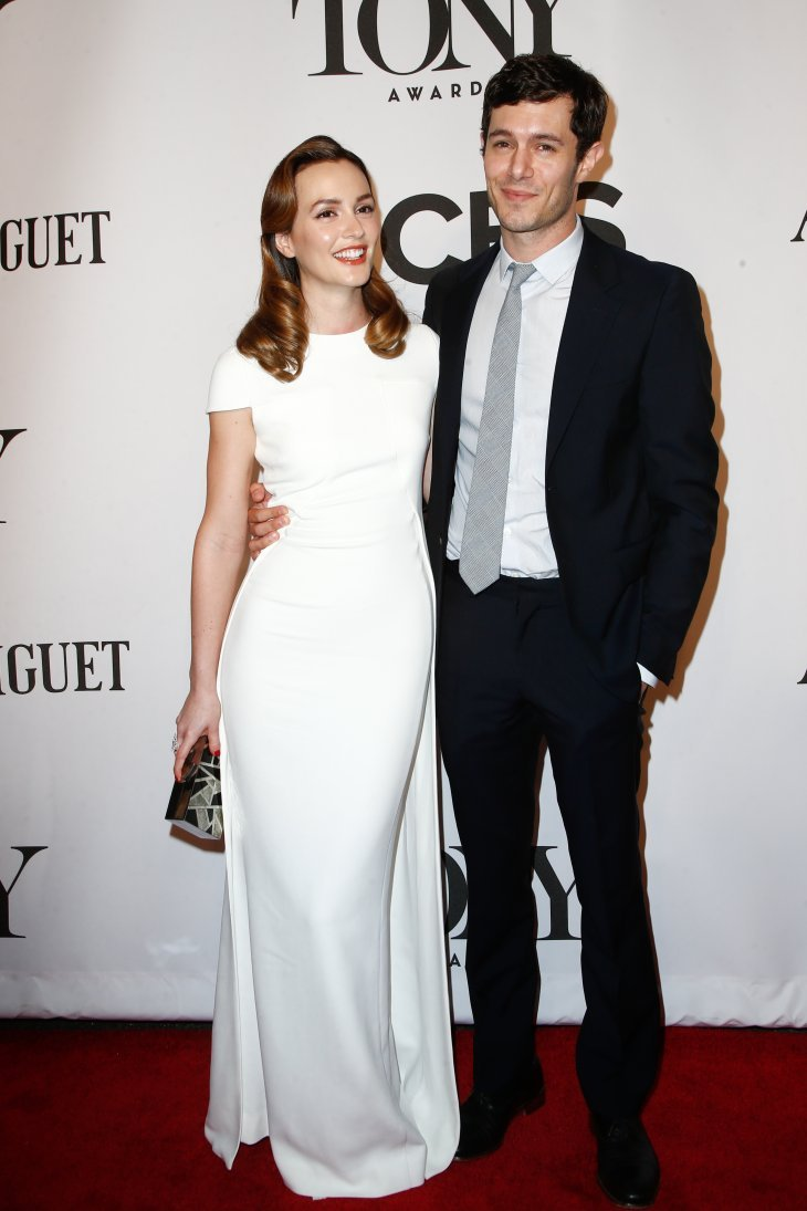 Adam Brody and Leighton Meester at the American Theatre Wing's 68th Annual Tony Awards, 2018 | Source: Shutterstock